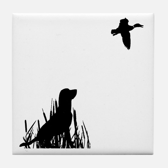 Duck Hunt Tile Coaster