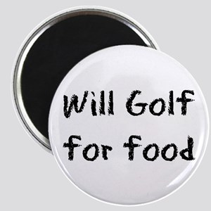 Will Golf for Food Magnet