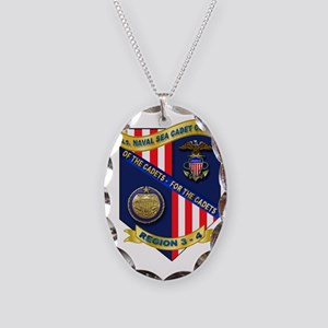 Naval Sea Cadet Corps - Region Necklace Oval Charm