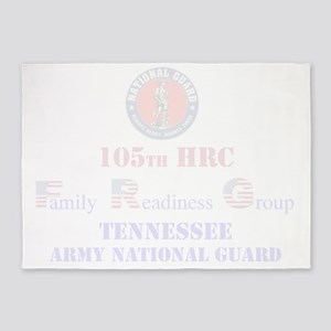 105th HRC FRG TN Army National Guar 5'x7'Area Rug