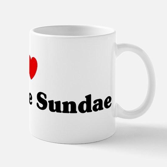 I love Hot Fudge Sundae Mug