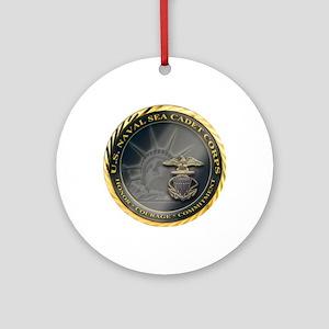 Naval Sea Cadet Corps - Region 3-4  Round Ornament