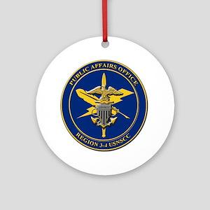 Naval Sea Cadet Corps - Region 4-1  Round Ornament