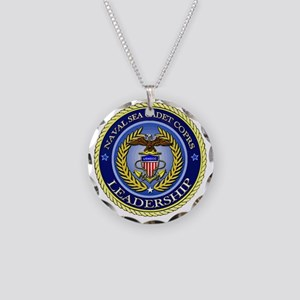 NAVAL SEA CADET CORPS - LEAD Necklace Circle Charm