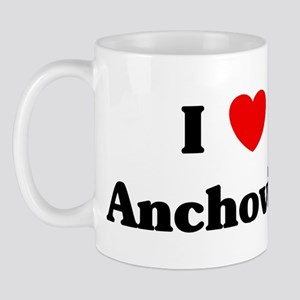 I love Anchovies Mug