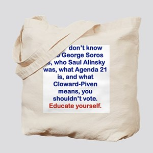 IF YOU DONT KNOW... Tote Bag