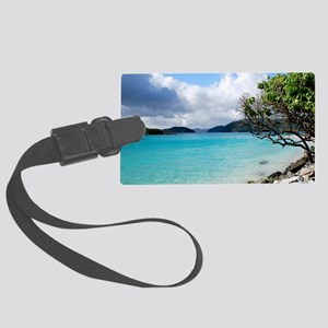 Cinnamon Bay, St. John VI Large Luggage Tag