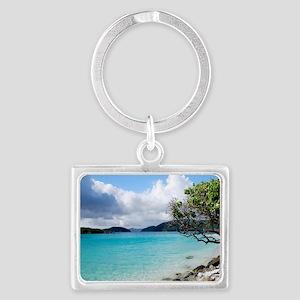 Cinnamon Bay, St. John VI Landscape Keychain