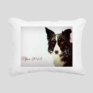 Piper 2012 Inspirational Rectangular Canvas Pillow