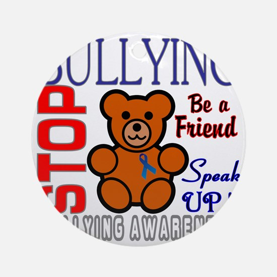 Bullying Awareness Round Ornament