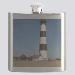 Bodie Island Lighthouse Outer Banks NC Flask