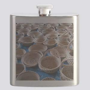Charleston SC Sweetgrass Baskets Flask