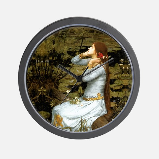 Waterhouse Ophelia Wall Clock