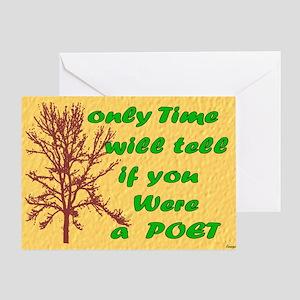 Lap Top Greeting Card