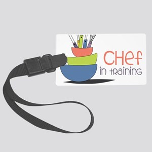 Chef in Training Large Luggage Tag