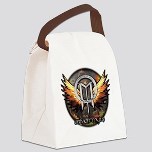 Christ in Limbo Themed Circular I Canvas Lunch Bag