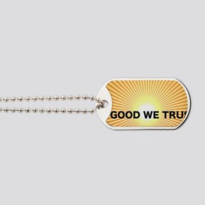 In Good We Trust front license Dog Tags