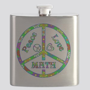 Peace Love Math Flask
