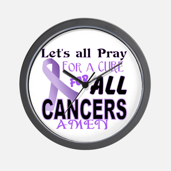 All Cancer Wall Clock
