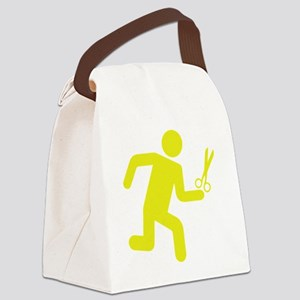 runninWithScissors1E Canvas Lunch Bag