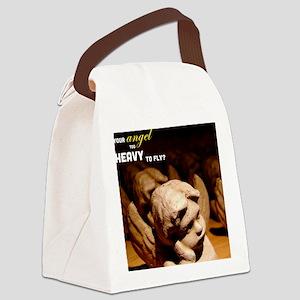 Heavy Angel Mousepad Canvas Lunch Bag