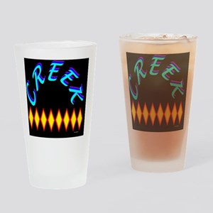 CREEK TRIBE Drinking Glass