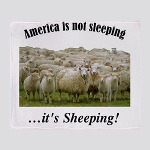 ....Sheeple! Throw Blanket