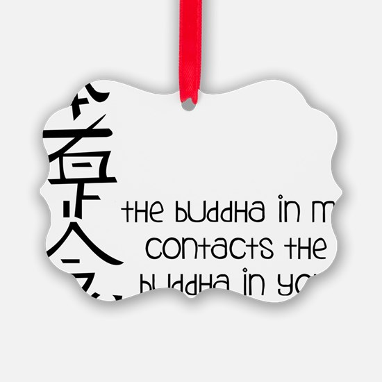 Buddha In Me Ornament
