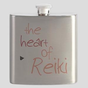 The Heart Of Reiki Flask