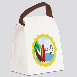 Surf's Up Canvas Lunch Bag