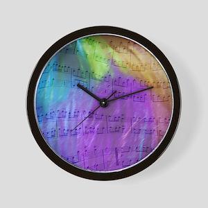 Musical Notes Wall Clock
