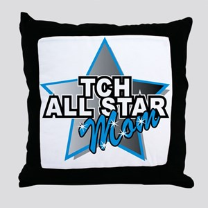 TCH All Star Mom Throw Pillow