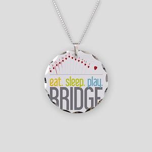 Bridge Necklace Circle Charm