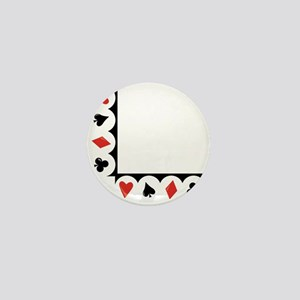 Playing Cards Corner Mini Button