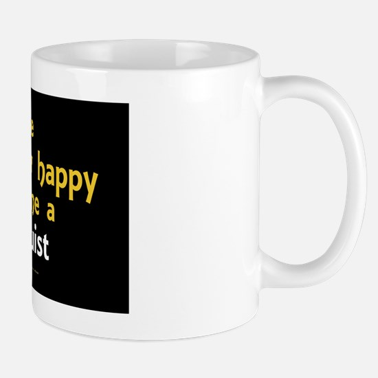 Be Happy Linguist wall peel Mug