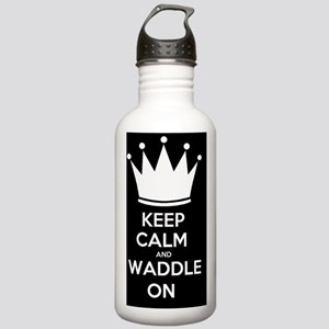 Keep Calm and Waddle O Stainless Water Bottle 1.0L