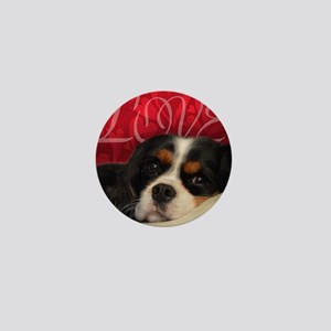 Cavalier King charles Spaniel Love Mini Button