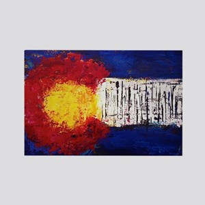Colorado Flag Rectangle Magnet