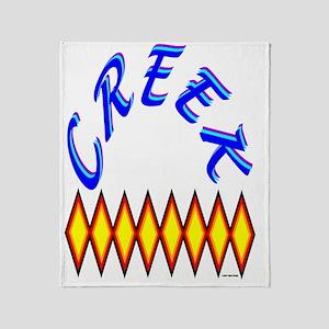 CREEK TRIBE Throw Blanket