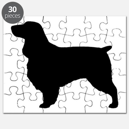 fieldspanielblk Puzzle
