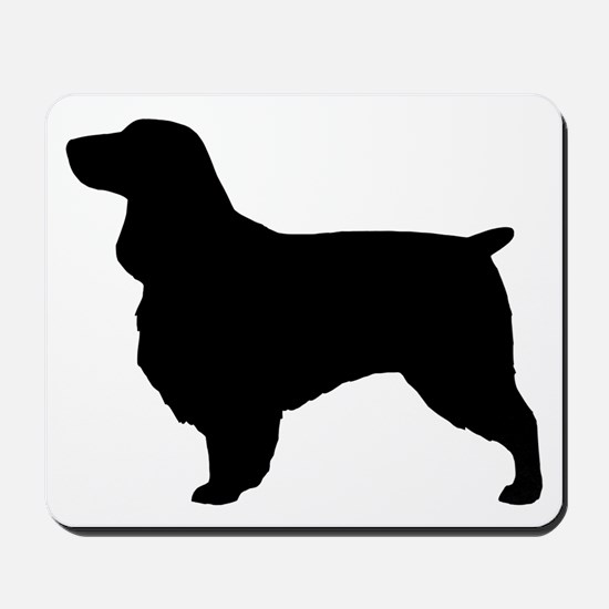 fieldspanielblk Mousepad