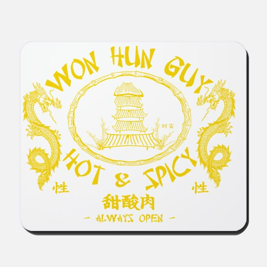 WUN HUN GUY Mousepad