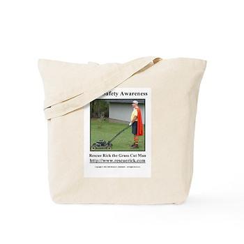 Yard Safety Awareness Tote Bag