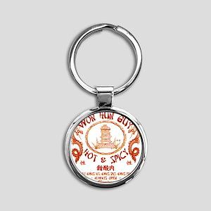 WUN HUN GUY Round Keychain