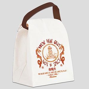 WUN HUN GUY Canvas Lunch Bag
