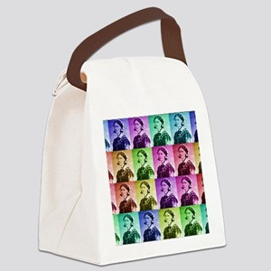 Florence Nightengale blanket 2 Canvas Lunch Bag