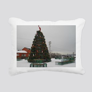 The Lobster Is The Star Rectangular Canvas Pillow