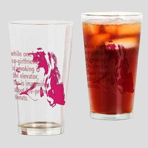 brwn_ex-girl Drinking Glass