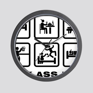 Massaging-ABA1 Wall Clock