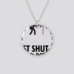Mailman-AAU1 Necklace Circle Charm